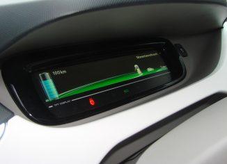 Nissan Leaf stanje baterije
